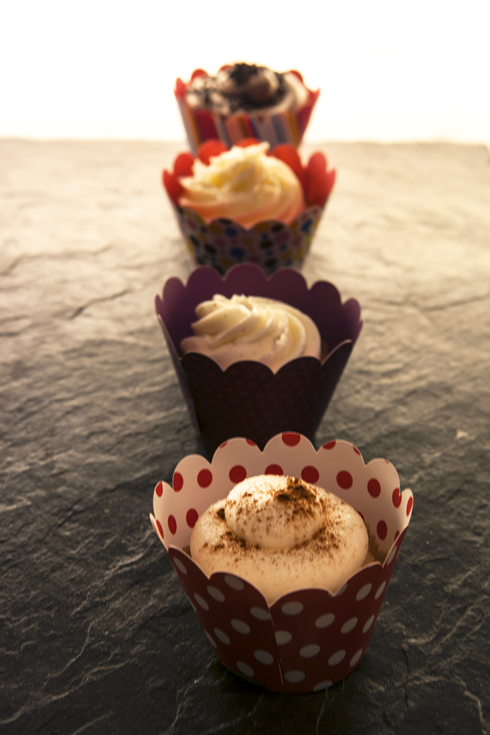 Housemade cupcakes