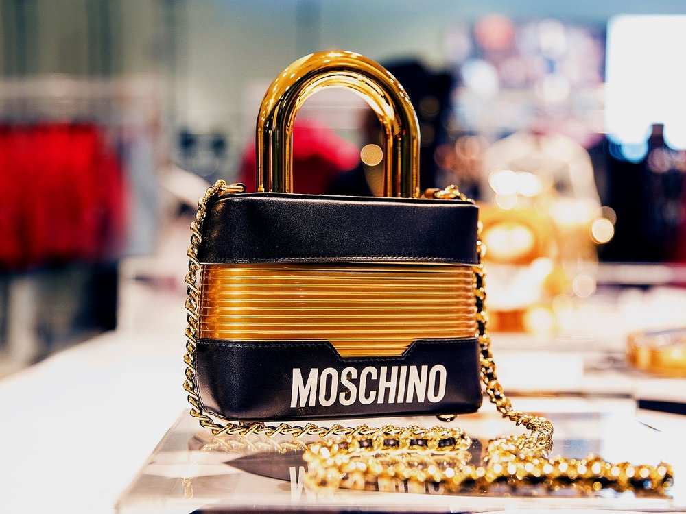 Iconic Moschino purse