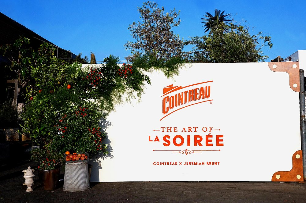 Cointreau event entrance