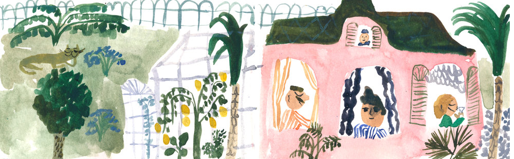 Garden of Blommendahl. Unpublished personal work.