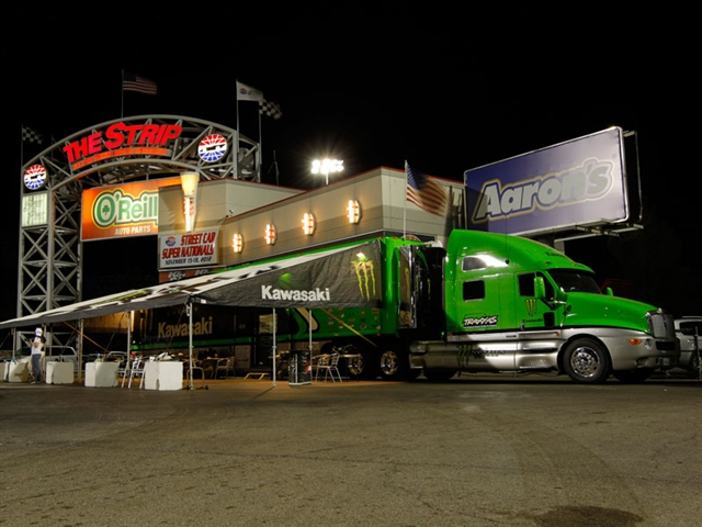 The Zero to Hero promotion finals took place at The Strip at Las Vegas Motor Speedway