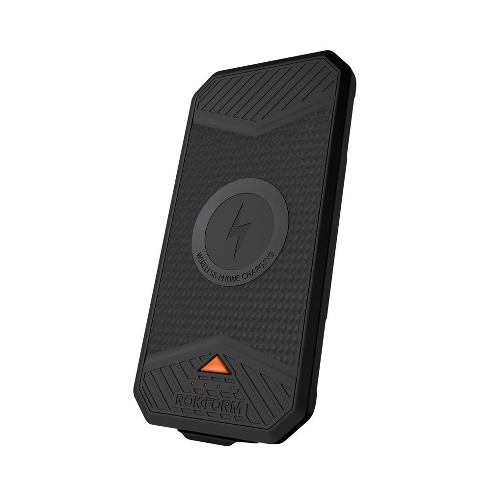 Rokform Reactor Series Portable Wireless Charging Pack - Back