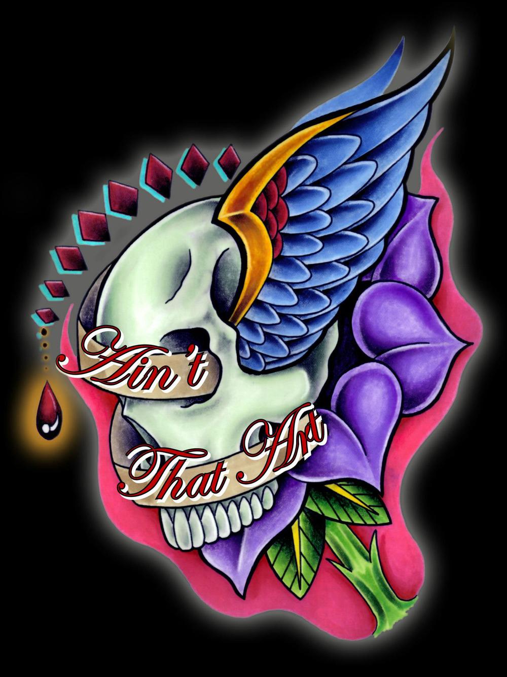 skull flower lettering.jpg