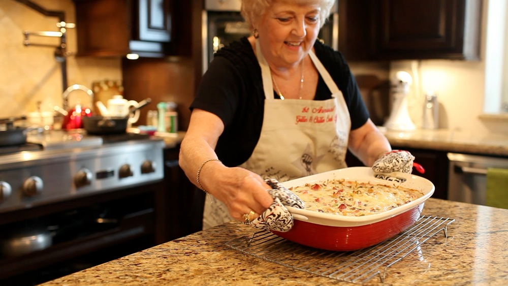 Carol Paul Kitchen video screen grab