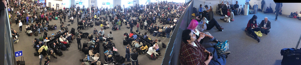 Another view of the terminal where we were sent.