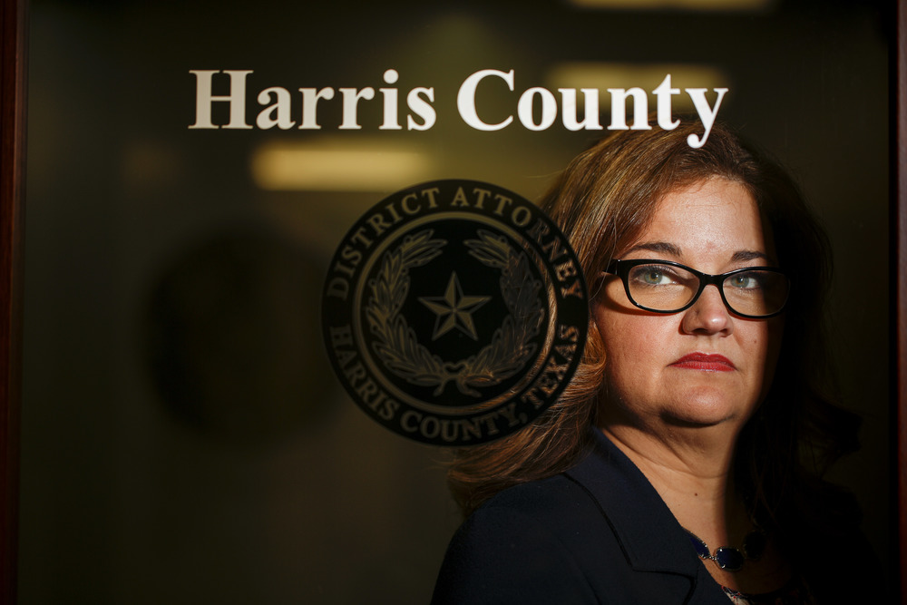 Inger Chandler, chief of the Conviction Review Section at the Harris County District Attorney's Office
