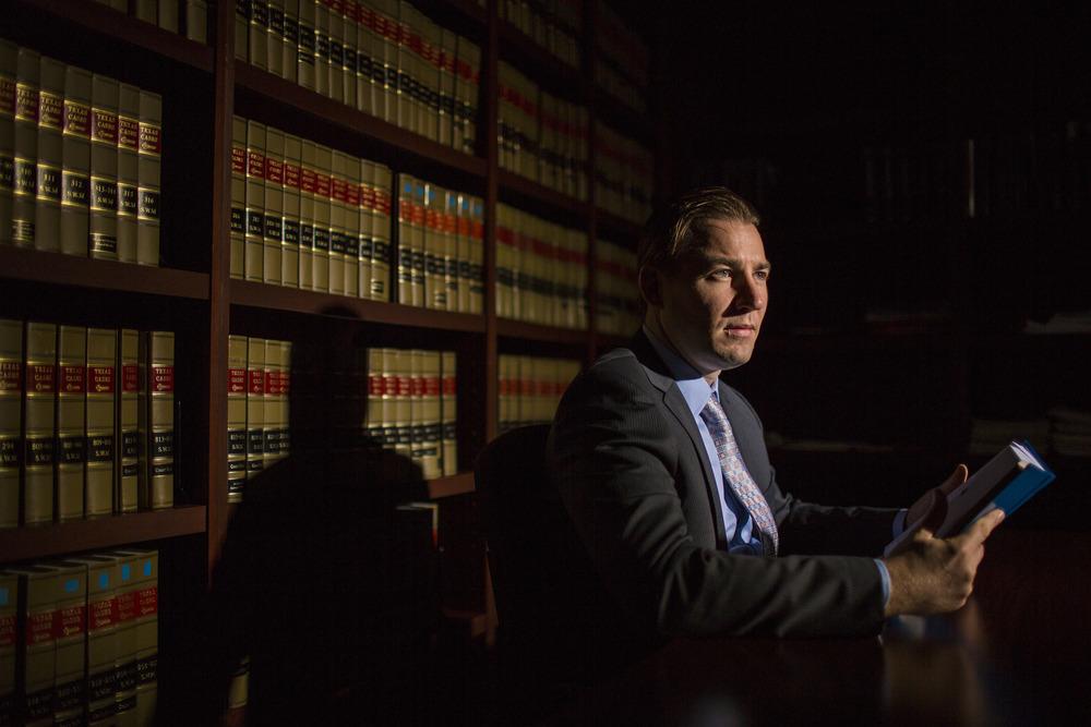 Harris County Assistant Public Defender Nicolas Hughes