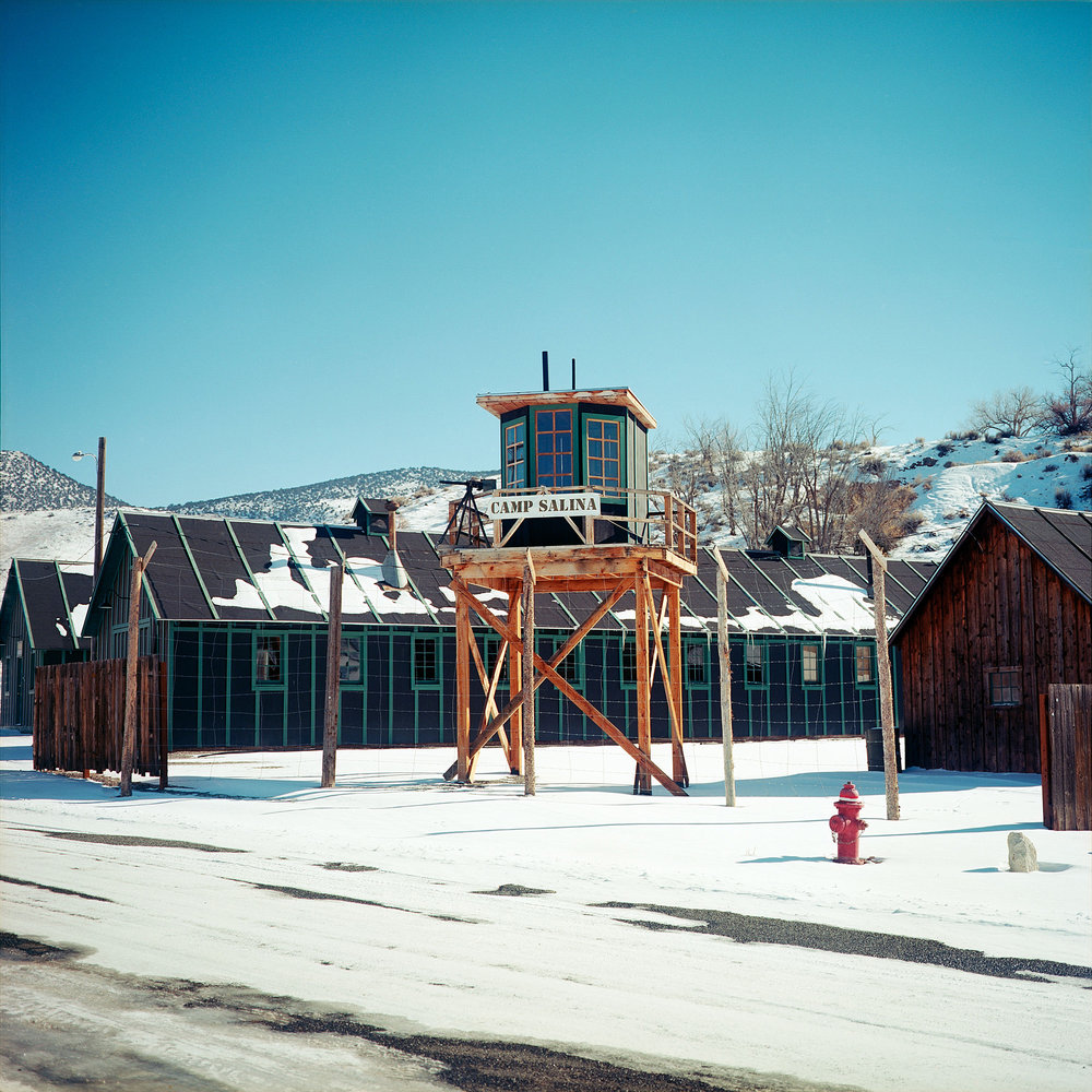 Camp Salina, a former WWII POW camp in Salina, Utah, is the site of the worst POW massacre in United States history. American private Clarence Bertucci, immediately after beginning his guard duty around midnight, fired a .30 caliber M1917 Browning machine gun into thirty of the forty-three prisoner tents, unloading 250 rounds in about 15 seconds. Most of the German soldiers were from Erwin Rommel's Afrikakorps. Nine soldiers were killed and nineteen were wounded. Bertucci, who already had two prior court martials, concluded that he had hated Germans, so he had killed Germans. Bertucci was found to be insane by military officials and spent the rest of his life in Mason General Hospital in Brentwood, New York until his death in December 1969.