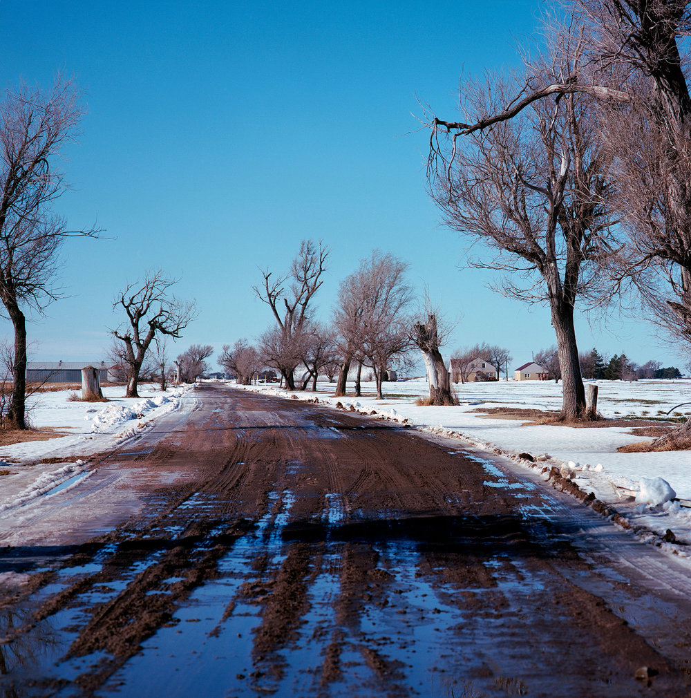 """The home of the Herbert Clutter family, Holcomb, Kansas. The four family members were murdered in the home in 1959 and were the subject of Truman Capote's masterpiece """"In Cold Blood."""""""