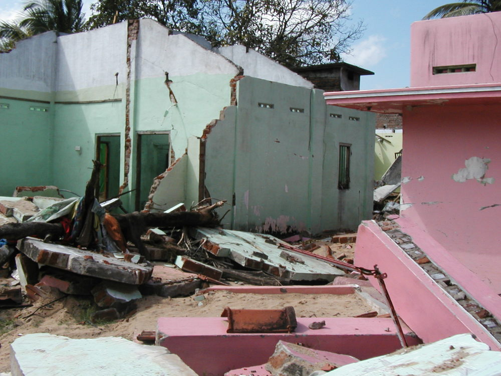 2005: Tsunami Damage in Kallar