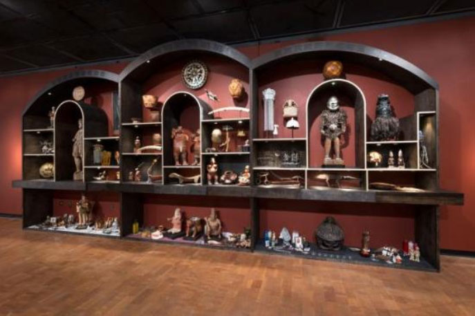 New World Wunderkammer,  2013, Fowler Museum, Photo via the Fowler