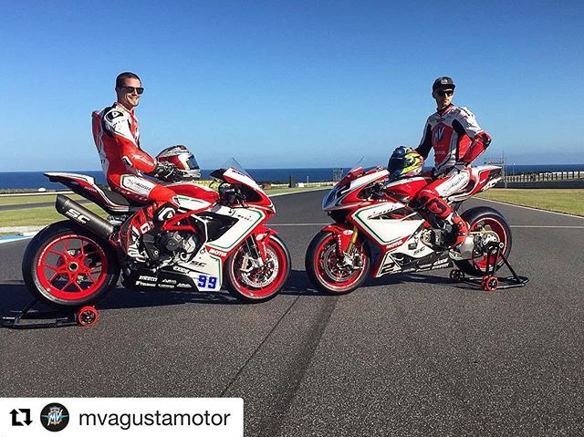 Ain't playin games #TCB watching from Newport Beach California @pjjacobsen @leoncamier you guys know you got what it takes bring home the wares with @repostapp ・・・ Ready! 🏁 @pjjacobsen @leoncamier @mv_agusta_reparto_corse @worldsbk #mvagustarepartocorse #repartocorse #mvagusta #mvagustaf4 #mvagustaf3 #F4RC #F3RC #mvagustamotor #MotorcycleArt