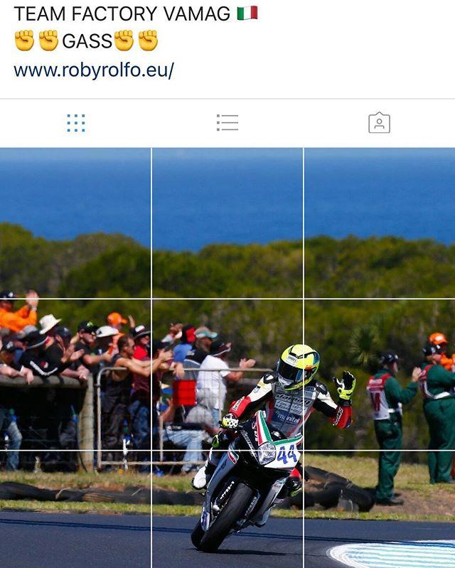 So cool we had to repost @robertorolfo44 nice work bringing #mvagustamotor across the finish line first.