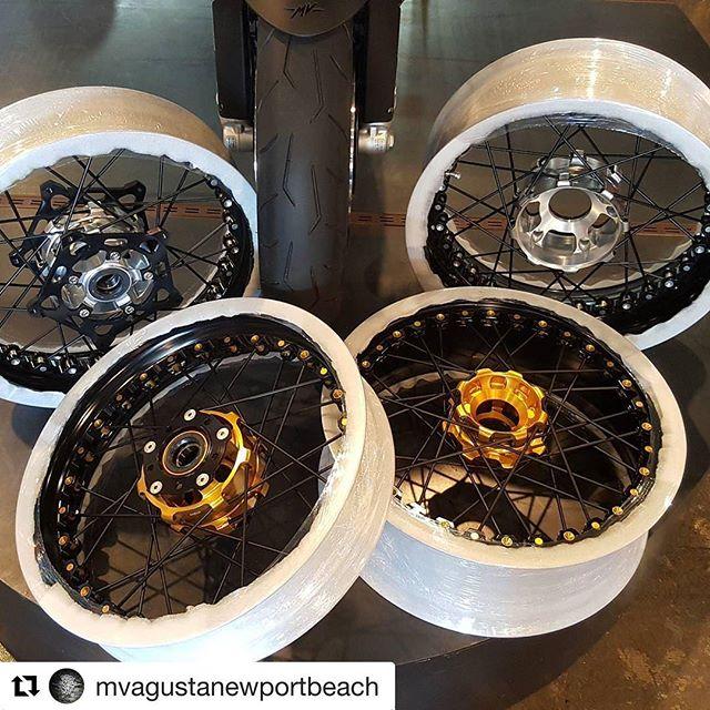 Only the best #Italian parts please. Yes #italiansdoitbetter #Repost @mvagustanewportbeach with @repostapp ・・・ We love when shipments from Italy come in! 😊 #Kineo #KineoWheels #InMotion  #SpokedWheels #MVAgusta #Ducati #BMW #NewportItalian #MotoMeccanica #MVAgustaNewportBeach #MadeinItaly #goproorgohome