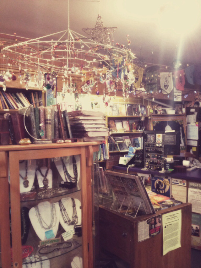 One of my favorite places is Avalon at the Market Place...a gorgeous metaphysical shop.