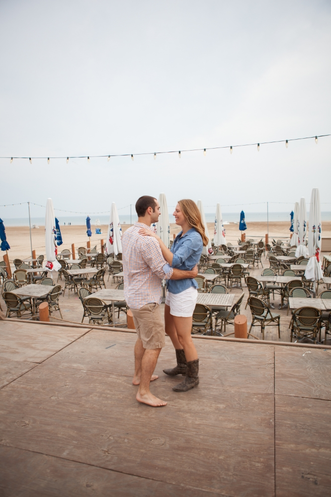 Montrose Beach Engagement