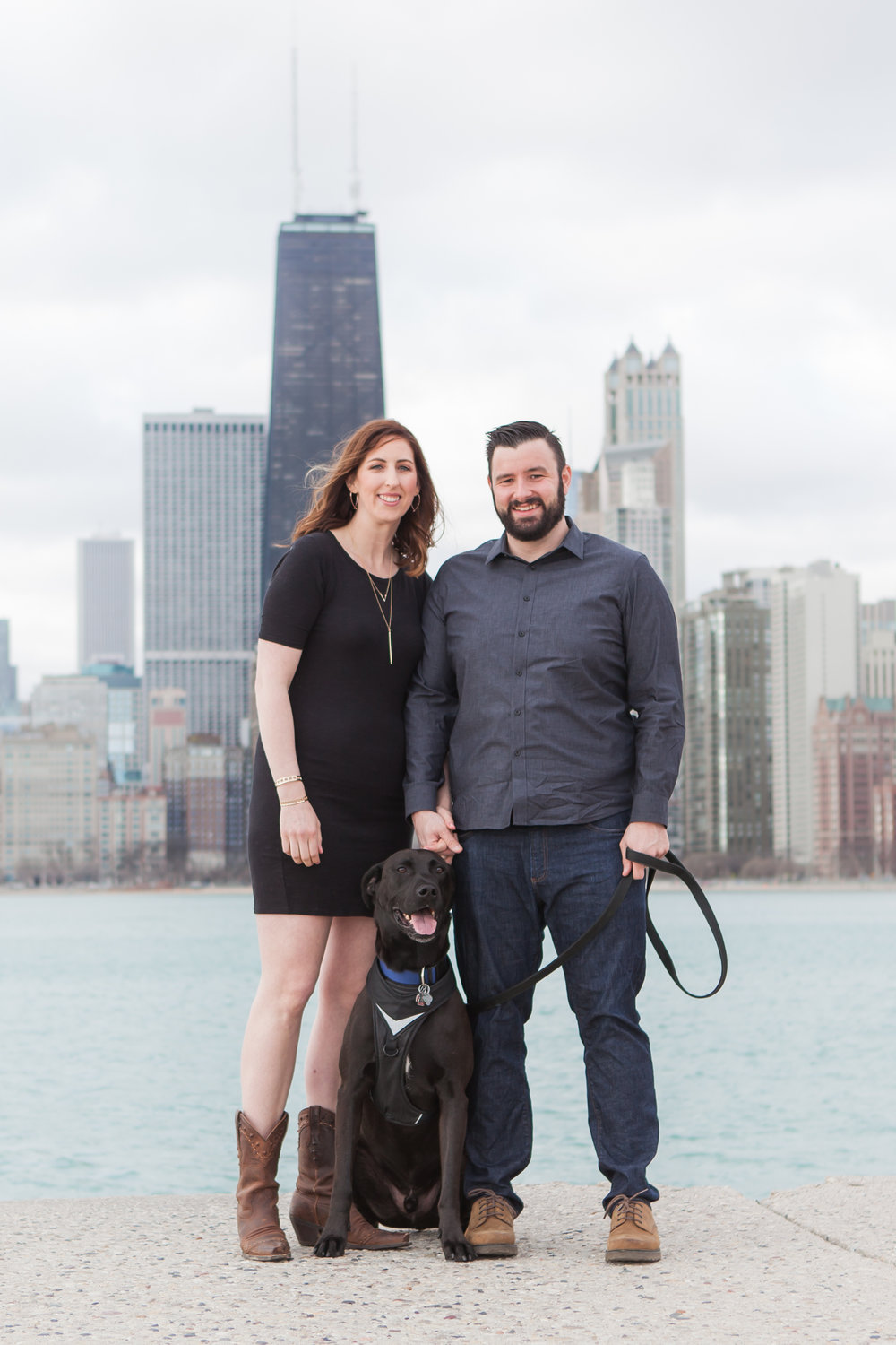 Chicago Skyline Engagement