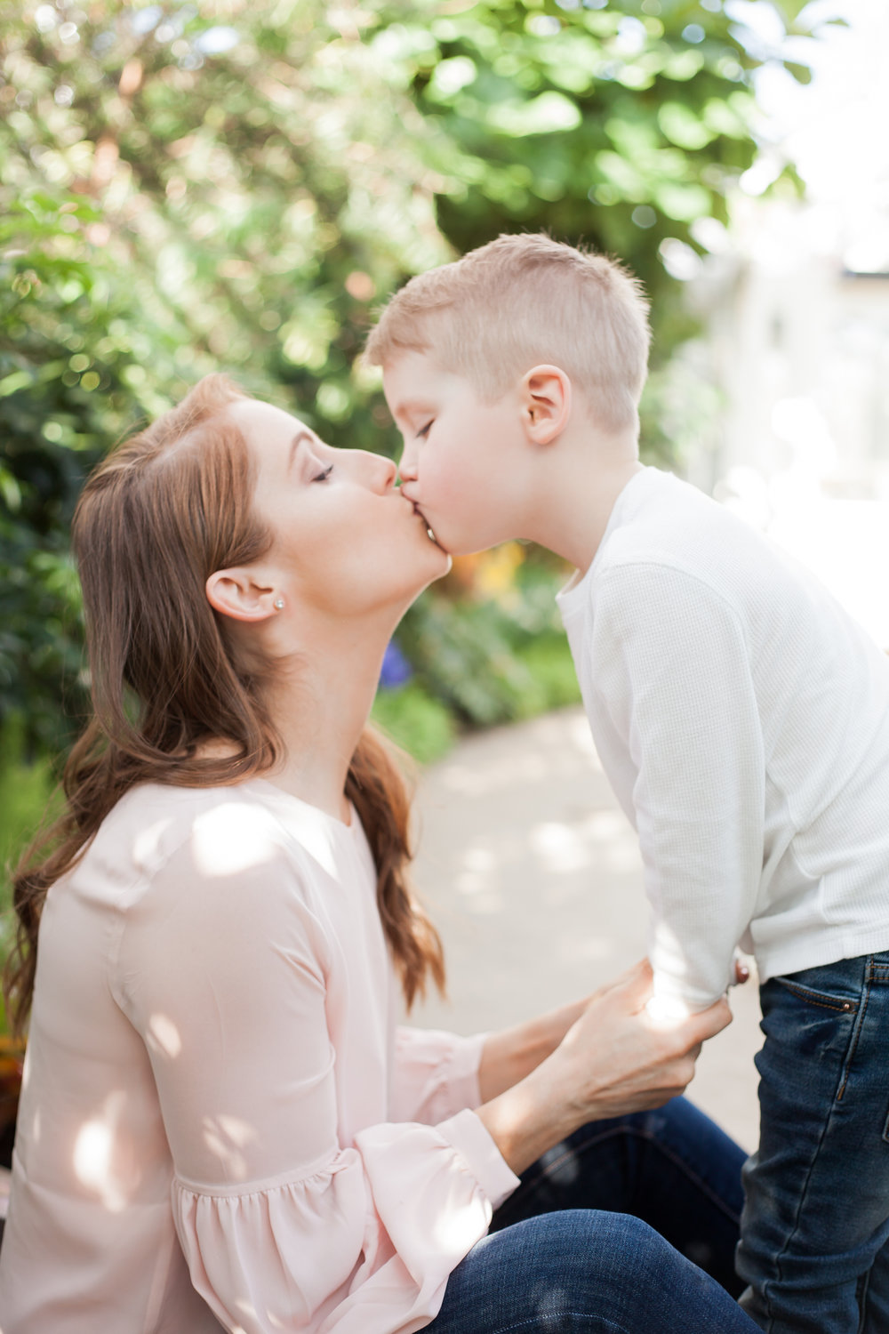 Mom and Son photoshoot