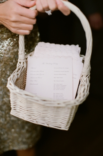 Assorted wicker baskets for flower girl or programs   $5 each  Photo:  Meredith Perdue