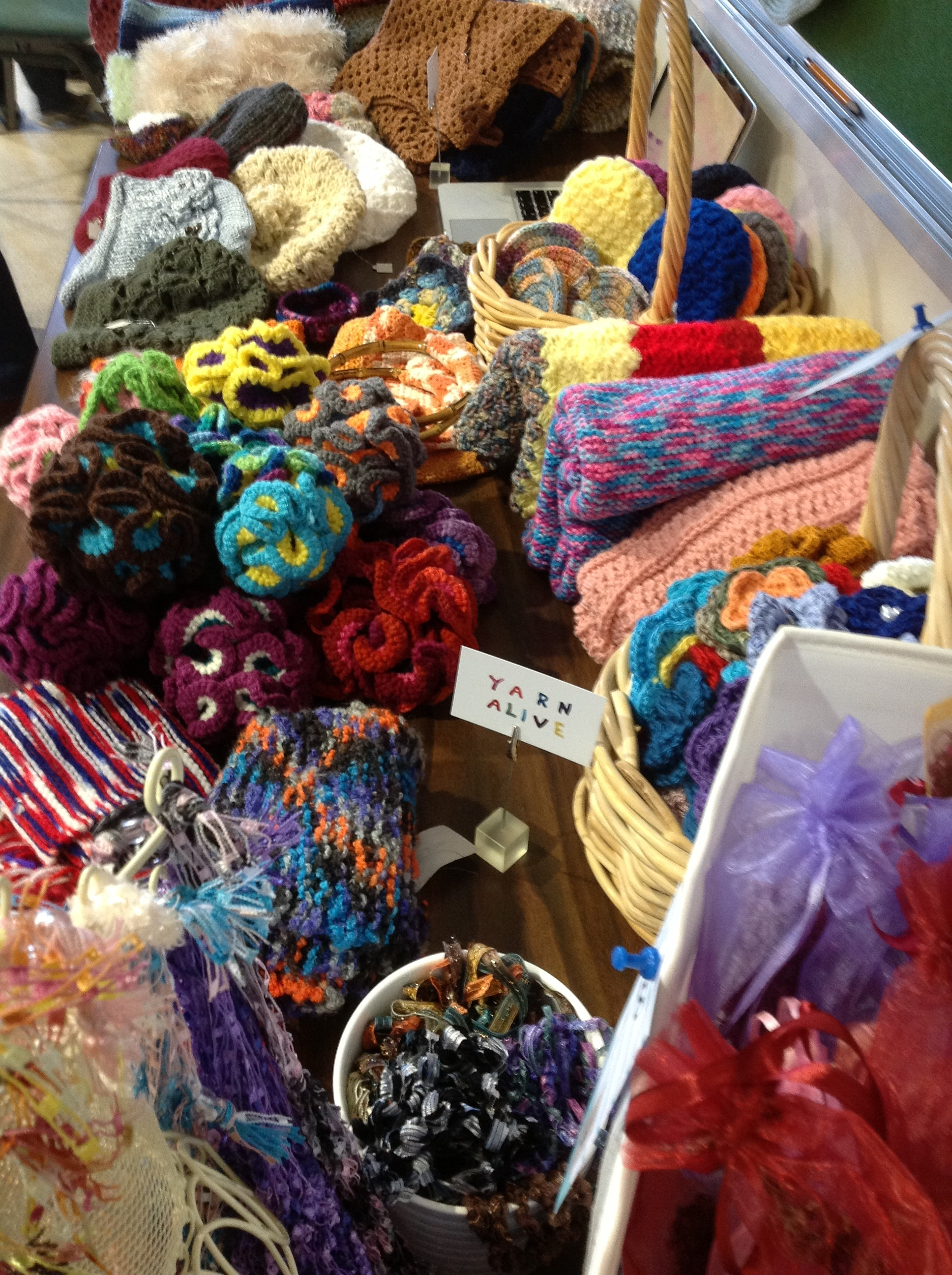 From necklaces, to flowers, to blankets, to shawls and more!