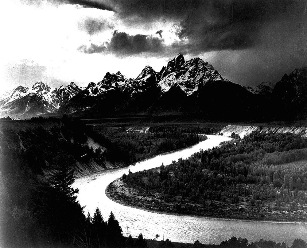 The Tetons and Snake River - Ansell Adams