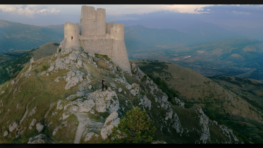 Drone shot from OVERLAND shoot in Abruzzo, Italy
