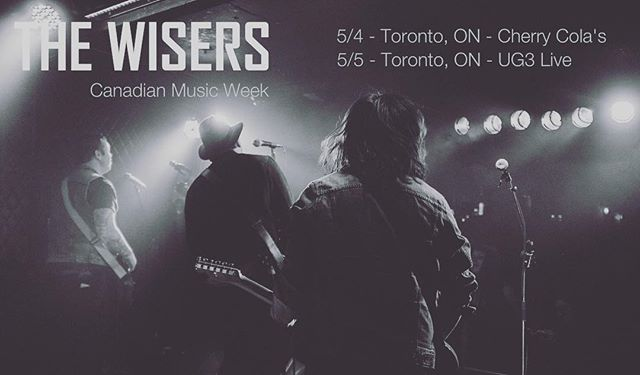 TORONTO! We're at @ Cherry_Colas tonight 11:59pm ‪#‎CMW2016‬‬ #rocknroll #rock #yyzmusic https://youtu.be/9xee0gPhpW4
