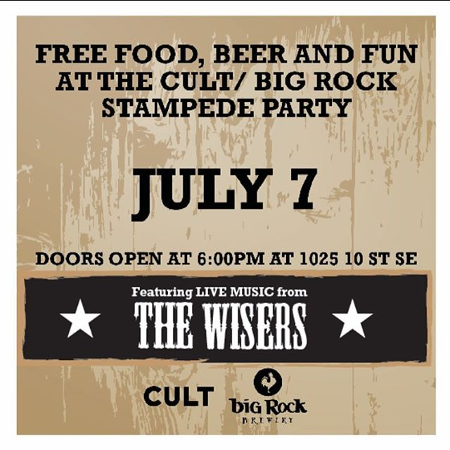 Most important part of this poster is the first and third words. Also we'll be throwing down some jams for the first night of #stampede2016 at Calgary's best stampede party. @wepunchcows is on the bill too, and with @bigrockbrewery providing an endless supply of #freebeer this is destined to get greasy #yycmusic @cultcollectiveltd space is limited, reserve a spot, DO IT (link in our profile)