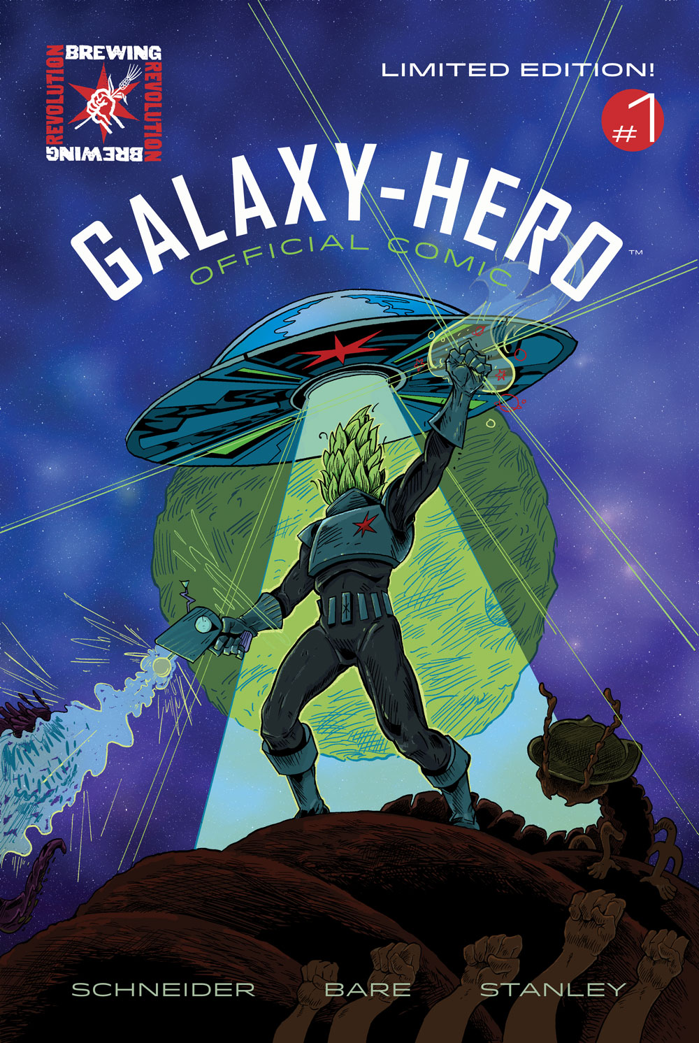 galaxy hero comic
