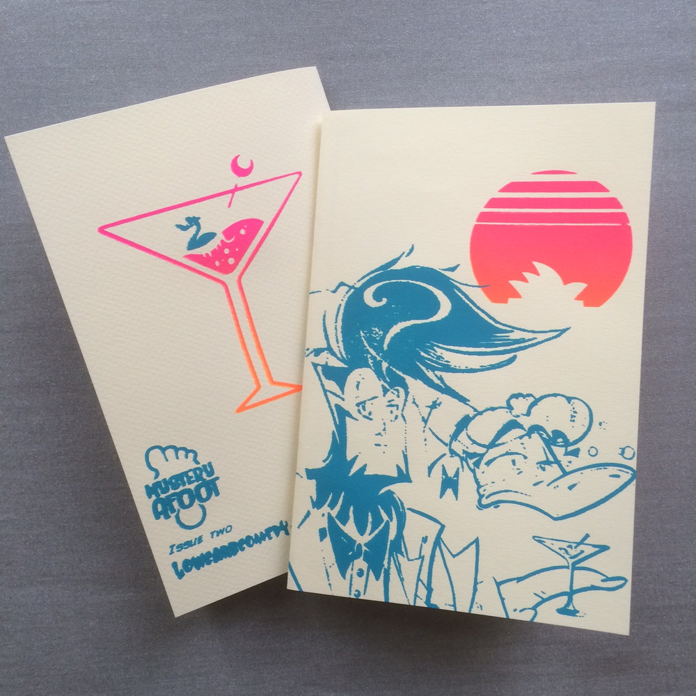 "Issue 2 in its first form! The ""Dirty Martini"" edition."