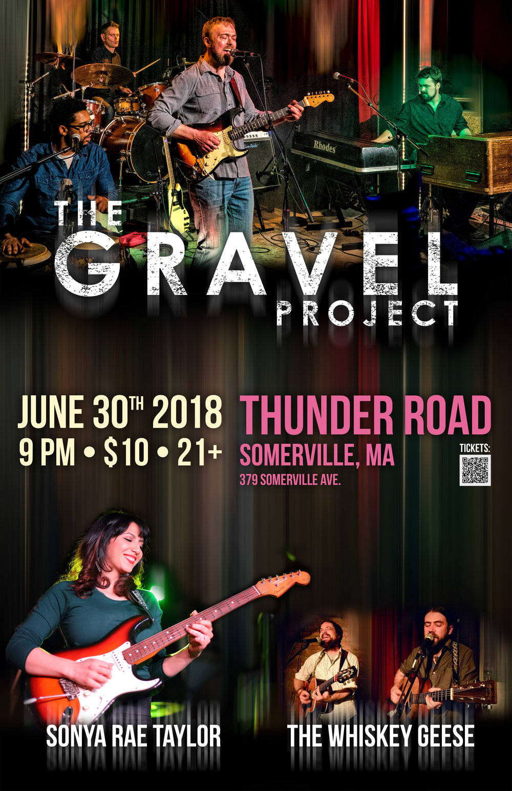 The Gravel Project at the Extended Play Sessions April 12, 2018