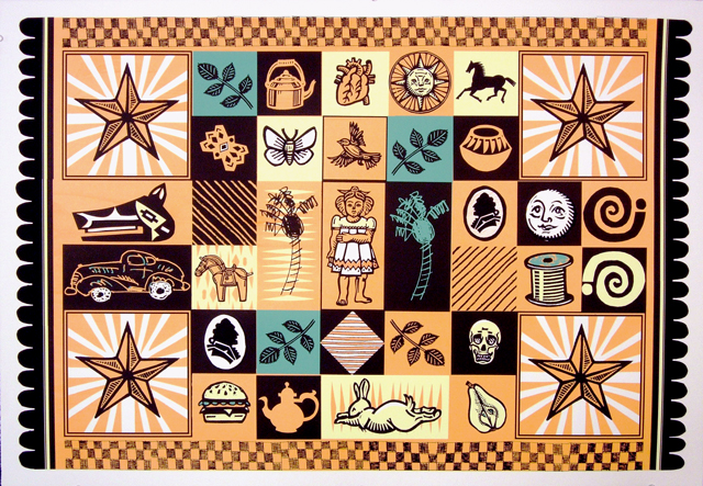 Family Quilt by Sonia Romero and Frank Romero (click to purchase)