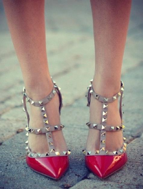 Valentino studded heels