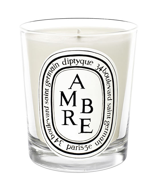 Diptyque Ambre. A refined and elegant amber scent.