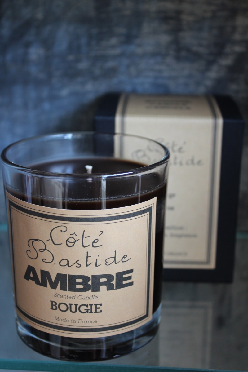 Cote Bastide  Ambre. A deep and musky French amber.