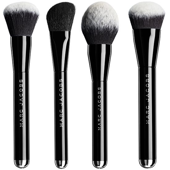 The brushes are skillfully designed and uber soft. Our fav is the rounded bronzer brush.