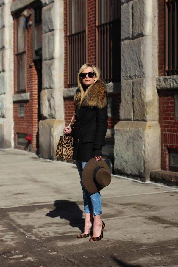 Leopard accessories.
