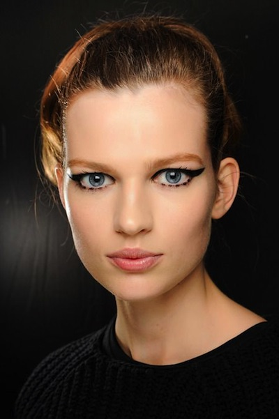 Dramatic Eyeliner at Anna Sui