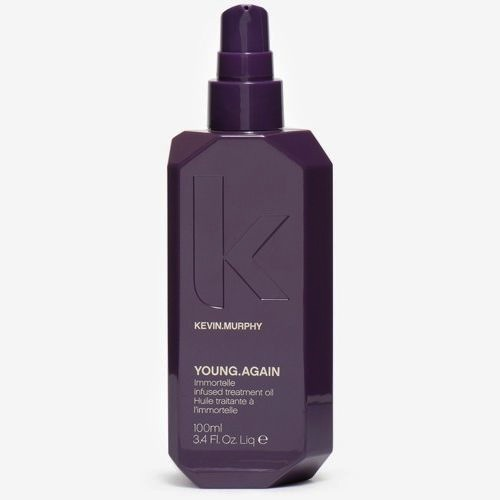 This luxurious oil is meant to be applied on damp hair to smooth, protect and prep hair for styling. It made my hair feel like silk.