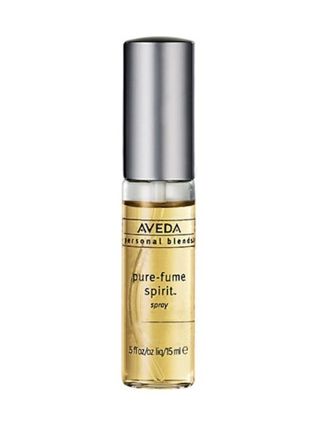 "I have been using  Aveda 's ""pure fume"" Spirit for years and get compliments on it all the time. It has no harsh chemicals and smells like a day at the spa. You can choose from a wide selection of blends and they will make it for you custom, on the spot. My fav is #6 which is the fragrance of their iconic Shampure shampoo."