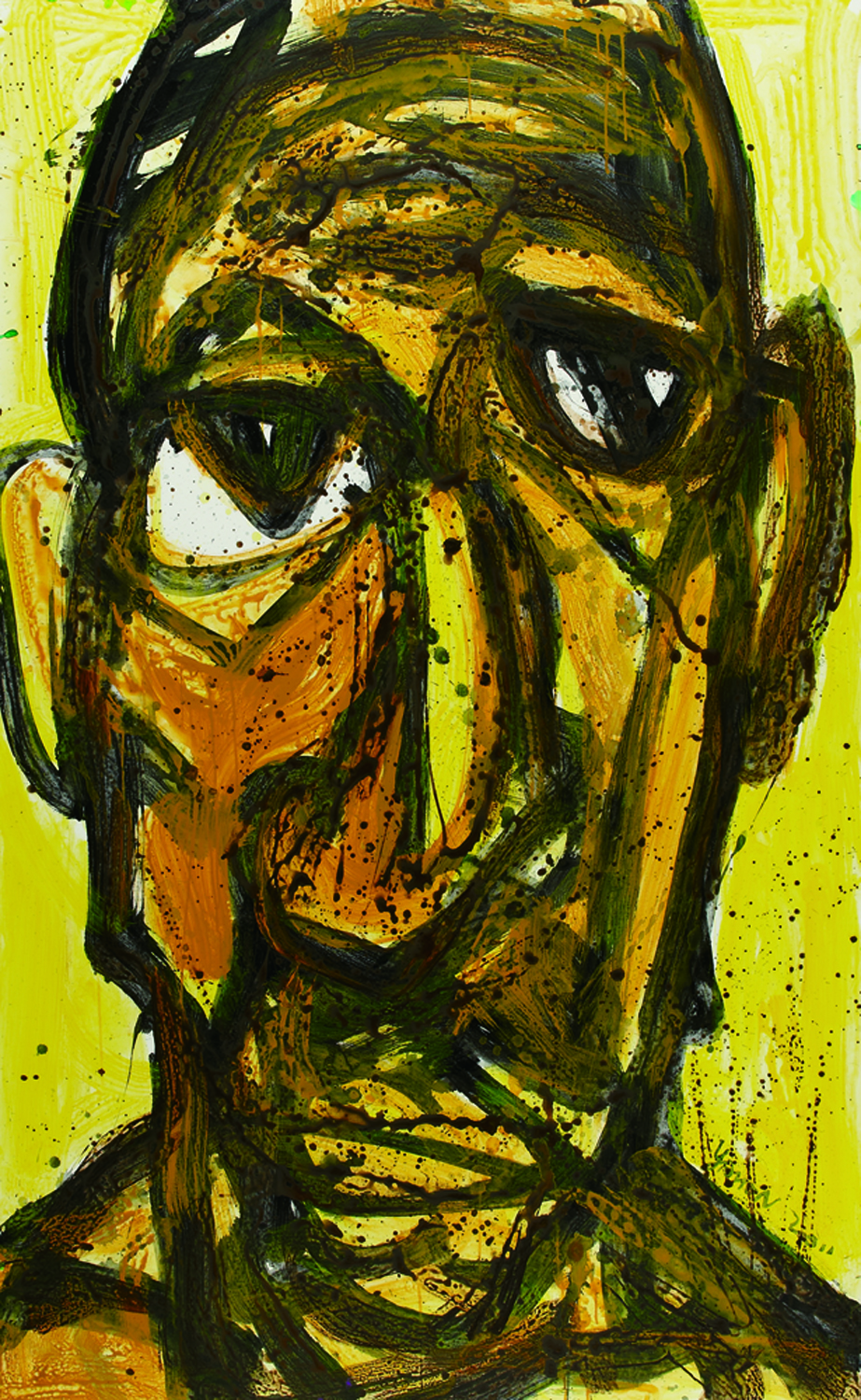面對面 Face To Face 264x151cm 2011 壓克力‧畫布  Acrylic on canvas(4).jpg