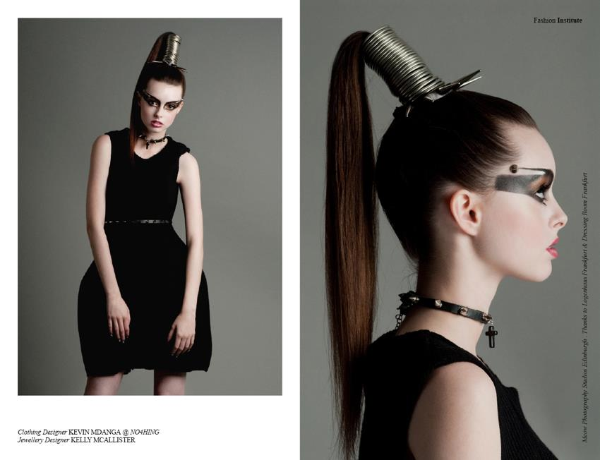Fashion editorial for Institute Fashion Magazine