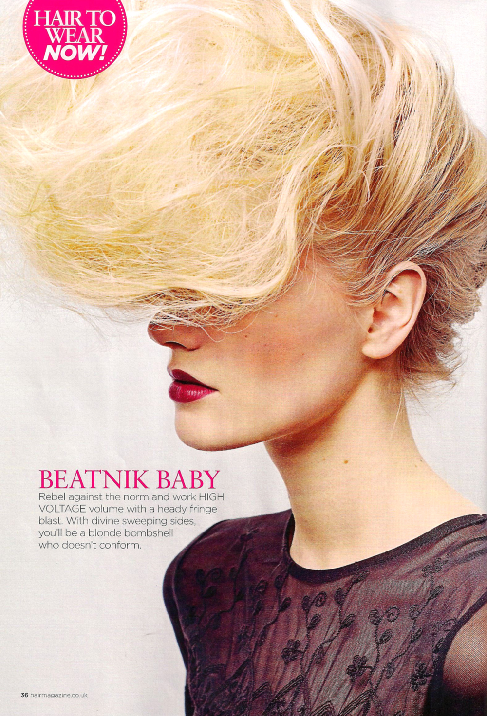 Published for Hair Magazine May/June 2014