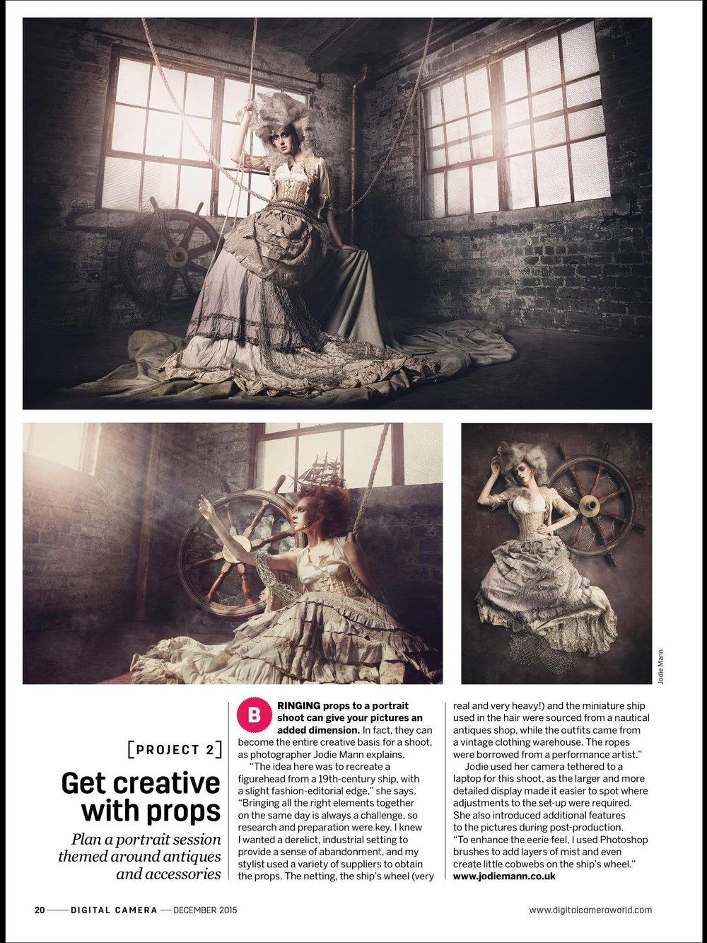Publication - Digital Photography Magazine November 2015.