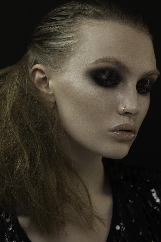 Model Louise Model Team Glasgow. Hair Caroline Stewart. Assistant Susan Deans.