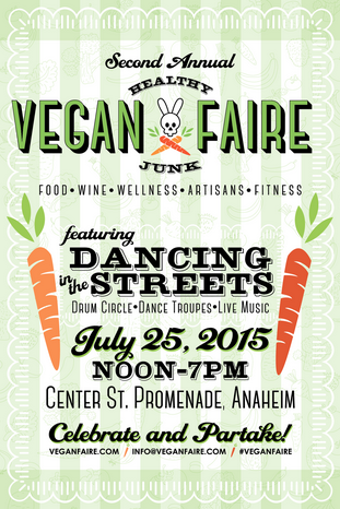Thank you Vegan Faire for featuring us as a vendor! Hope to see everyone again next year!