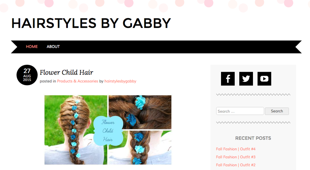 Click for Hairstyles By Gabby Full Feature:  http://hairstylesbygabby.com/2015/08/27/flower-child-hair/