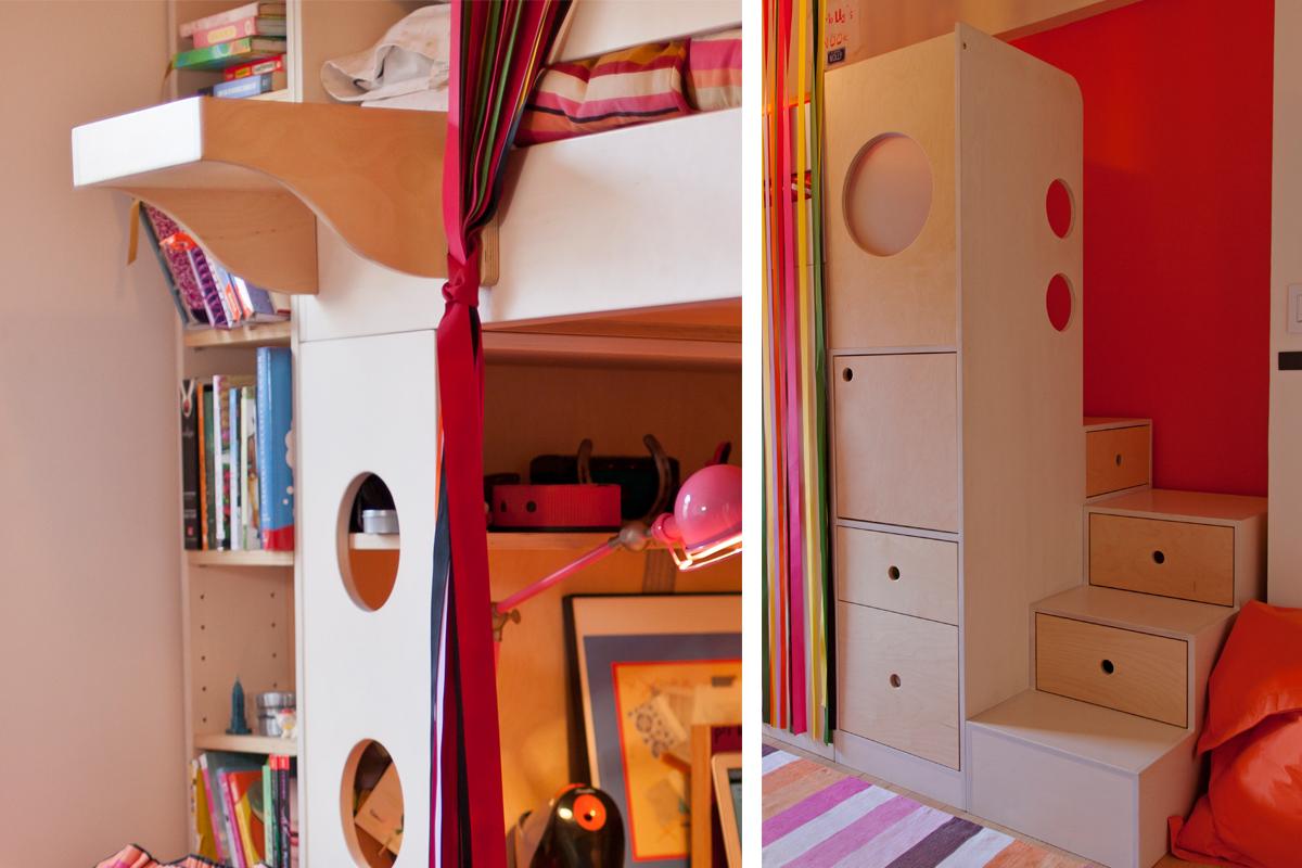 casa kids storage loft