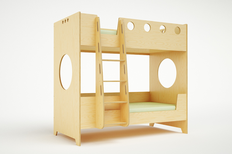 Marino Bunk Bed with ladder
