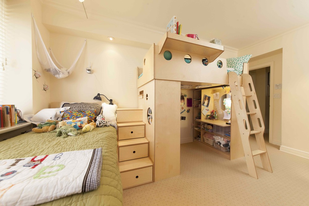 casa kids-loft bed-kids furniture